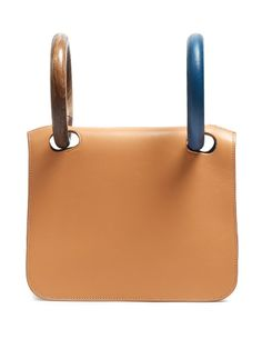 Neneh wooden-handle leather clutch | Roksanda - AVAILABLE HERE: http://rstyle.me/n/cnqzigbcukx