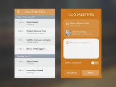 Log Meeting