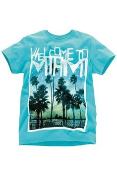 Welcome to Miami T-Shirt (3-16yrs)