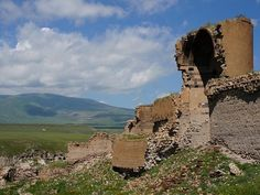 Ani, Turkey was the ancient city of 1000 churches and now sits abandoned Caption: The ruins sit dramatically against the plateaus of inland Turkey.  Picture: MrHicks46.
