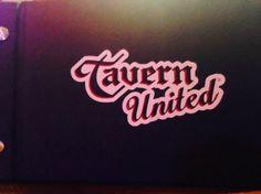 Cover of drink menu, Tavern United Brandon  |  1125 18th Street, Brandon, Manitoba