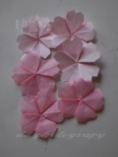 Recently I'm addicted to make flower origami. I found an e-book about flower origami which are arranged on a shikishi board then I got int...