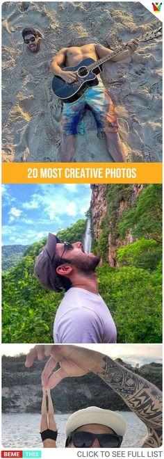 20 Most Creative Photos 20 kreativsten Fotos Creative Photography, Digital Photography, Amazing Photography, Portrait Photography, Photography Reflector, Photography School, Photography Articles, Photography Lighting, Photography Classes