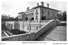 'Spring Hill', originally the William L. Stow estate designed by John Russell Pope c. 1903 and later owned by Henry Carnegie Phipps.  Glen Cove, NY