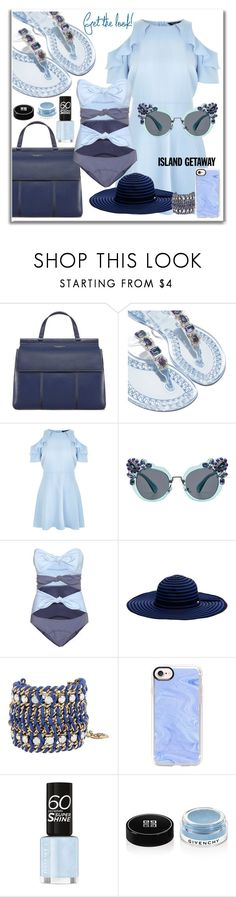 """Senza titolo #227"" by tulipano89 ❤ liked on Polyvore featuring Tory Burch, Casadei, New Look, Miu Miu, Lisa Marie Fernandez, Seafolly, Betsey Johnson, Casetify and Givenchy"