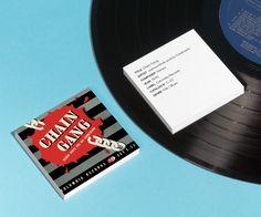 'Chain Gang' album cover design by Alex Steinweiss.