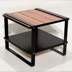 Muir End Table now featured on Fab. [Upcycled Furniture, Shiner International]