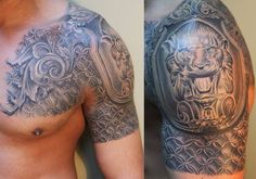 "Awesome ""chain mail"" tattoo"