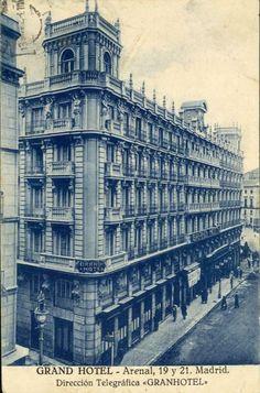 Imágenes del viejo Madrid. Grand Hotel.