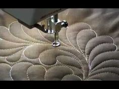 Some wonderful sit & sew machine quilting videos. - YouTube