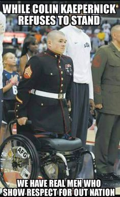 49er's QB refused to stand... it's a lame excuse and this Warrior just UNLEASHED Hell on him! Lets get 10,000 SHARES if you AGREE with this vet said to him!