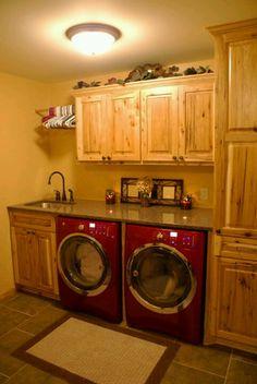 My dream laundry room! #LGatBBC