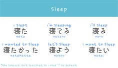 OLD PIN Sleep Japanese words arghlblargh!