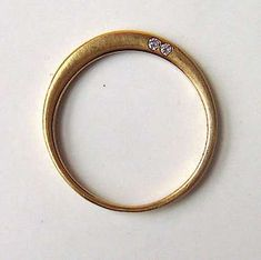 Minimalist Engagement Jewelry : 14 karat gold loved etched engagement ring
