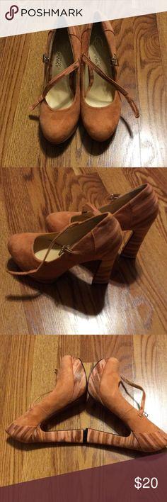 Beautiful Unique SHOES Blush color suede like SHOES Shoes Platforms