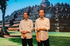"Madame Tussauds Hong Kong officially unveiled the wax figure of President Joko ""Jokowi"" Widodo on May 1."