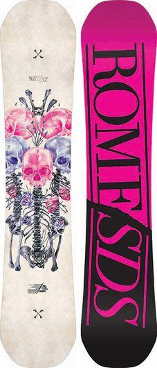 Rome Wildcat Snowboard   Rome Snowboard Design Syndicate 2014