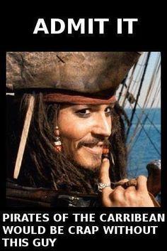 What Your Comment On Captain Jacks Sparrow