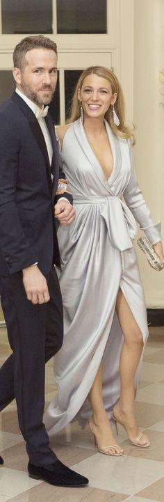 Ryan Reynolds & Blake Lively - State Dinner at the White House