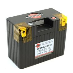 """Shorai LFX14L2-BS12 Extreme Rate Lithium-Ion Powersports Battery - 14 Ah 12V """"L"""" Polarity 210 CCA 
