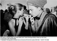 Kate Moss & Johnny Depp 1995