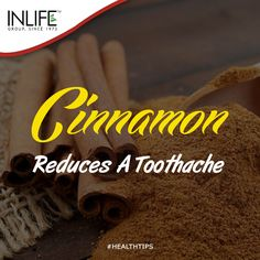 #Cinnamon is a remarkable natural remedy that can be very handy when you have a #toothache. Many people try to skip the visit to the dentist, but they have to know that just 1 aspirin won't reduce a toothache and it can lead to losing of the tooth. Cinnamon turned out to be a very good natural tool to quickly liquidate the pus sac and pain it causes. #healthtips