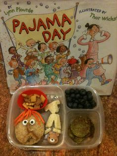 Keitha's Chaos: Pajama Day lunch