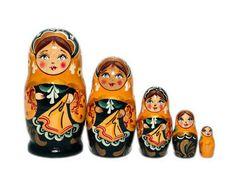 Nesting dolls for kids   Traditional nesting doll