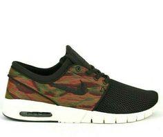 online store b50f9 bc94c Nike SB Stefan Janoski Air Max Skate Shoes Mens 9.5 Velvet Brown  Nike   SkateShoes