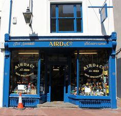 Aird & Co: Bond Street    One of the most attractive shopfonts in Brighton, Established in 1880