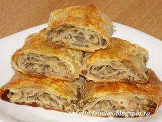 Absolut Delicios - Retete culinare: PAINE, PATISERIE SARATA