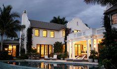 Florida Cape Dutch - tropical - Exterior - Miami - David Neff, Architect