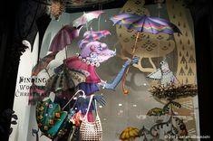 伊勢丹 新宿店本館 2013年11月 ショーウインドー1 Isetan - Japan