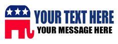 Political Banner #8523 Your Message, Banner, Politics, Messages, Logos, Banner Stands, Logo, Text Posts