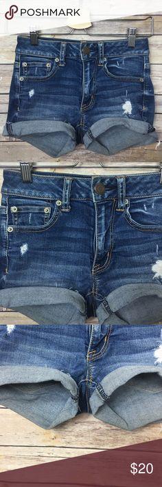 American Eagle Shorts AEO shorts like new size 00 American Eagle Outfitters Shorts Jean Shorts