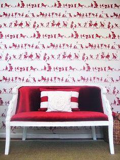 Porters Paint wallpaper
