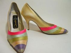 60s shoes vintage shoes Qualicraft