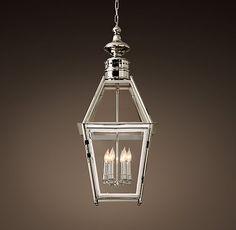 "Trafalgar Lantern - Restoration Hardware - $715 final sale 13"" (31.5""H)"