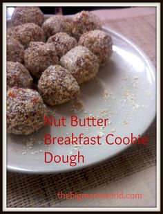 Nut Butter Breakfast Cookie Dough
