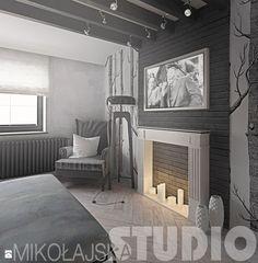 projekty w stylu vintage - zdjęcie od MIKOŁAJSKAstudio - Sypialnia - Styl…
