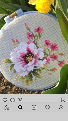Cross Stitch Beginner, Fall Cross Stitch, Cross Stitch Pillow, Cross Stitch Tree, Cross Stitch Samplers, Cross Stitch Flowers, Cross Stitch Charts, Cross Stitch Designs, Cross Stitching