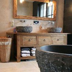 Waschtisch altholz  Ob Treibholz, rustikales Altholz oder lebhafte Waschtische aus ...