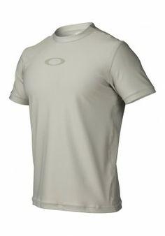 Camiseta Oakley Men's Ellipse Tee Rashguard Stone Grey 481856-22Y #Oakley#Camiseta