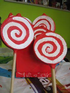 Lollypop schuddoosjes voor de allerkleinsten