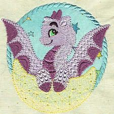 MythicalBabies - Free Instant Machine Embroidery Designs