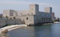 Swabian Castle, Trani, Puglia, Italia