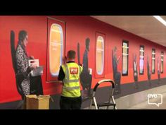 It's a wrap for easyJet at London Gatwick! A campaign we helped make happen with OMD, Eye and Easy Jet Easy Jet, Gatwick Airport, Channel, Campaign, Neon Signs, Shit Happens, London, Eye, Youtube