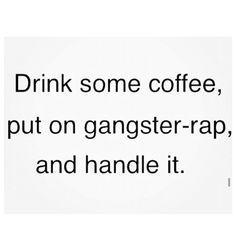 Happy Monday! #Monday #coffee #music #rap #love #funny