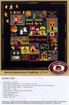 Booville! Quilt Pattern