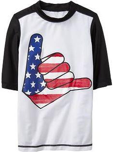 boys americana hang loose shirt $14.94